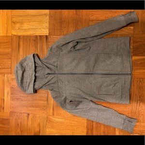 Lululemon grey zip up. Size 8